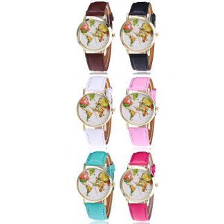 Produktbild für Armbanduhr Weltkarte - Geschenke, Gadgets und Geschenkideen