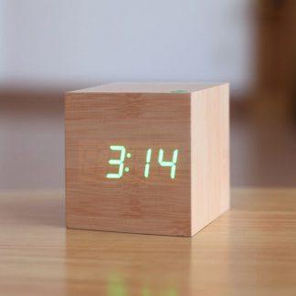 Produktbild für Holzcube Wecker - Geschenke, Gadgets und Geschenkideen