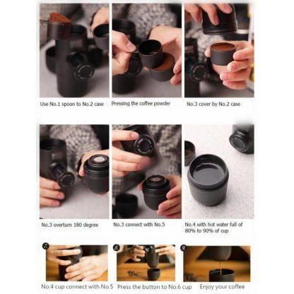 Produktbild für Mobile Espressomaschine - Geschenke, Gadgets und Geschenkideen