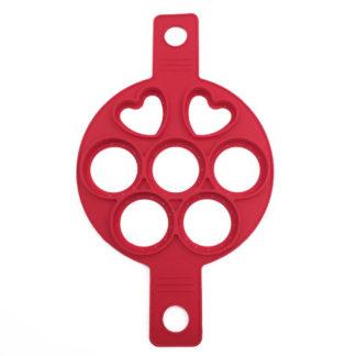Produktbild für Silikonschablone für Eier & Pancakes - Geschenke, Gadgets und Geschenkideen
