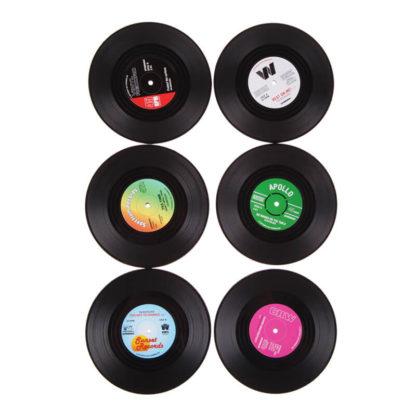 Produktbild für Vinyl Tassenuntersetzer - Geschenke, Gadgets und Geschenkideen