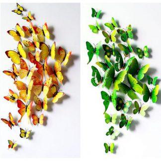 Produktbild für Schmetterlinge Wanddekoration - Geschenke, Gadgets und Geschenkideen